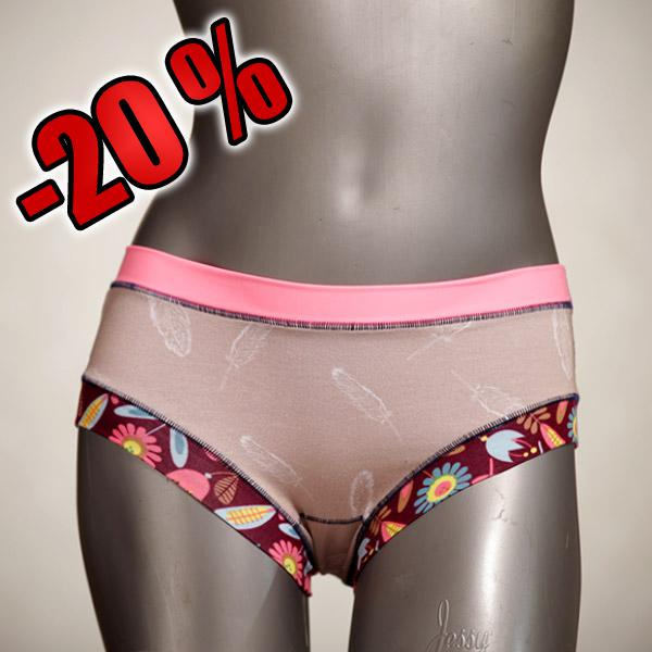 sexy patterned handmade ecologic cotton Panty - Slip for women size XS