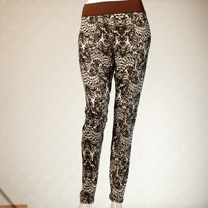 attractive handmade beautyful cotton leggin for women size L